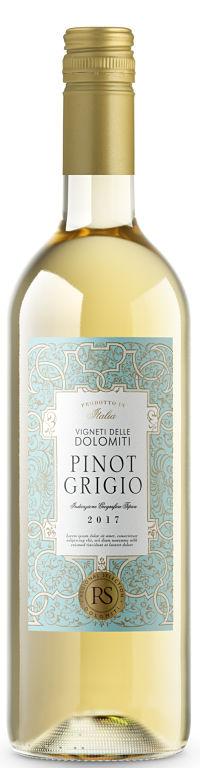 Christmas wines Spar Pinot Grigio Dolomiti