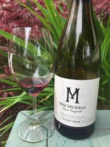 macmurray wines pinot noir