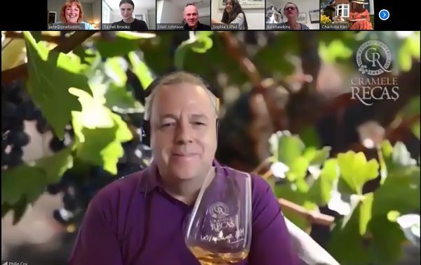 Philip Cox Cramele Recas wines