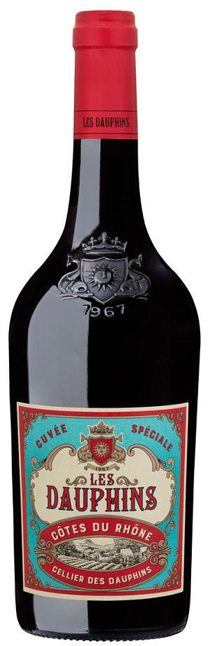Les Dauphins Côtes du Rhône drinks for summer
