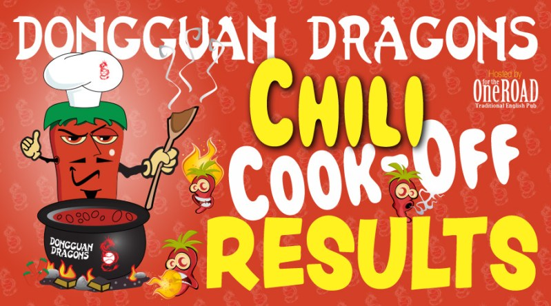 Chili Cook-Off Results