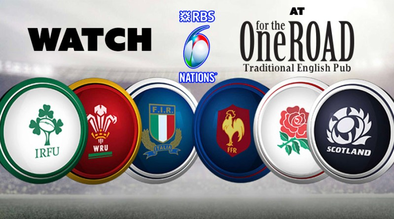 Watch 6 Nations RUGBY 2018 at OftR