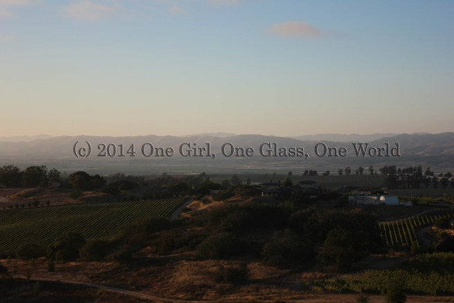 The view from one of the wine country excursion dinners at last years WBC in Santa Barbara.