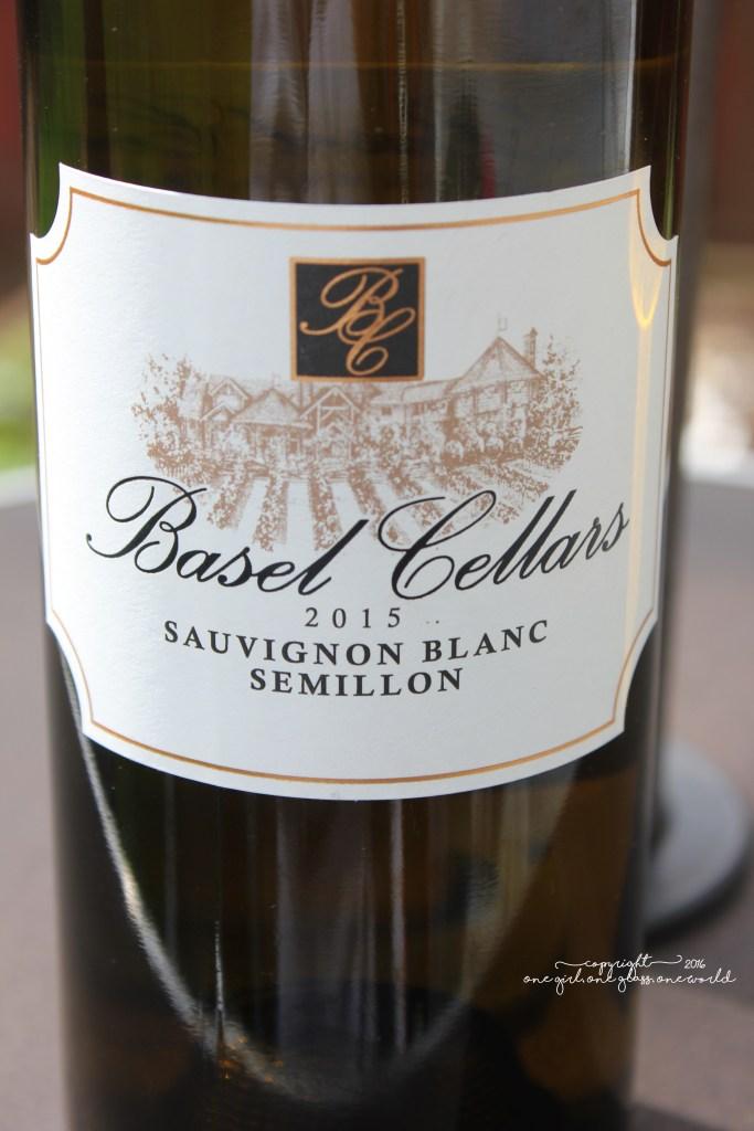 2015 Basel Cellars Sauvignon Blanc-Sémillon