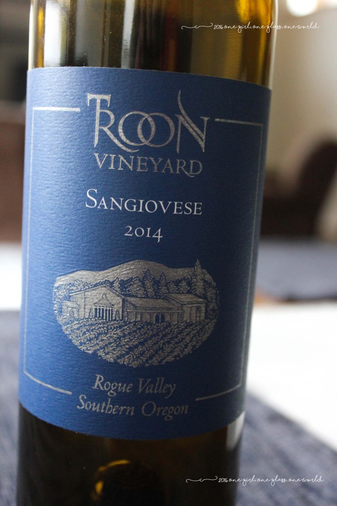2014 Troon Vineyards Sangiovese