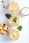 Creamy Coconut mango frosé + welcome to Rosé Week 2019!