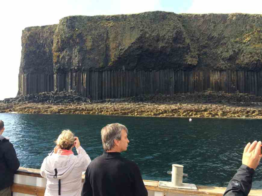 Why the Isle of Staffa is a must-see on your trip to Scotland | see Fingal's Cafe, puffins, amazing rock formations