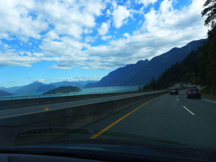 The Sea-to-Sky Highway route has tons of views & tons to do
