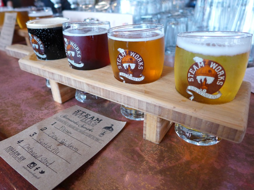 Steamworks Brew Pub...brewery tours are a key part of a Vancouver itinerary