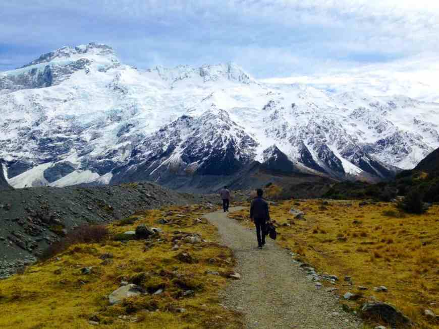 If you're looking for a hike in New Zealand, the Hooker Valley Track (half-day) is absolutely perfect, good for most fitness levels