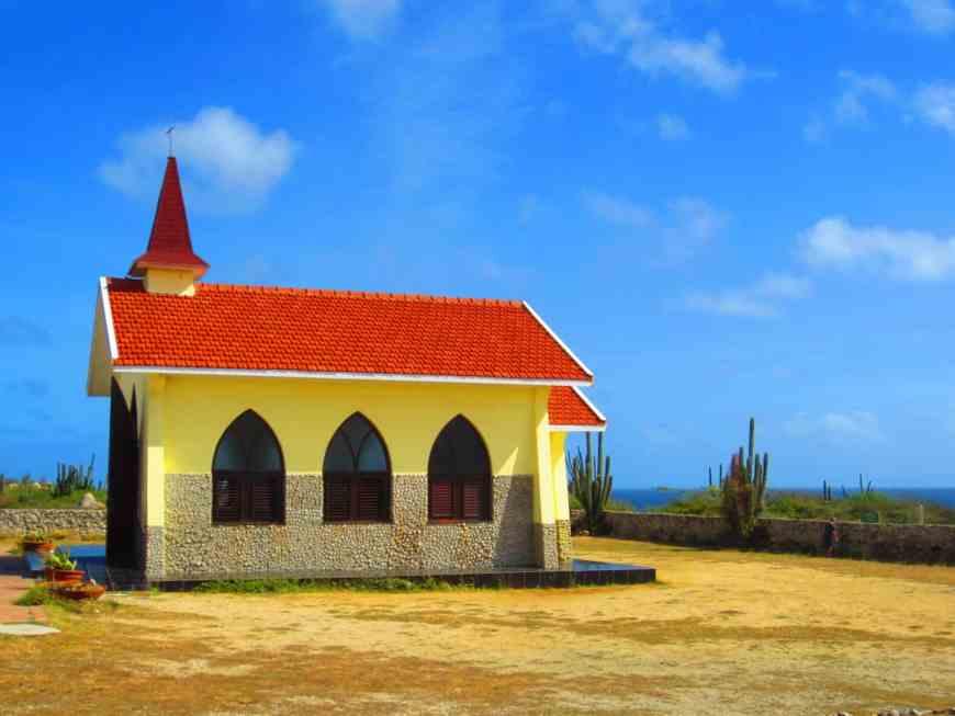 Cute Alto Vista Chapel on Aruba