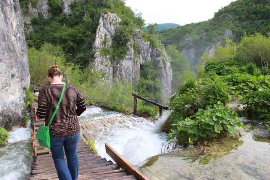 You'll get up close and immersed in the cascading waterfalls on your Plitvice visit