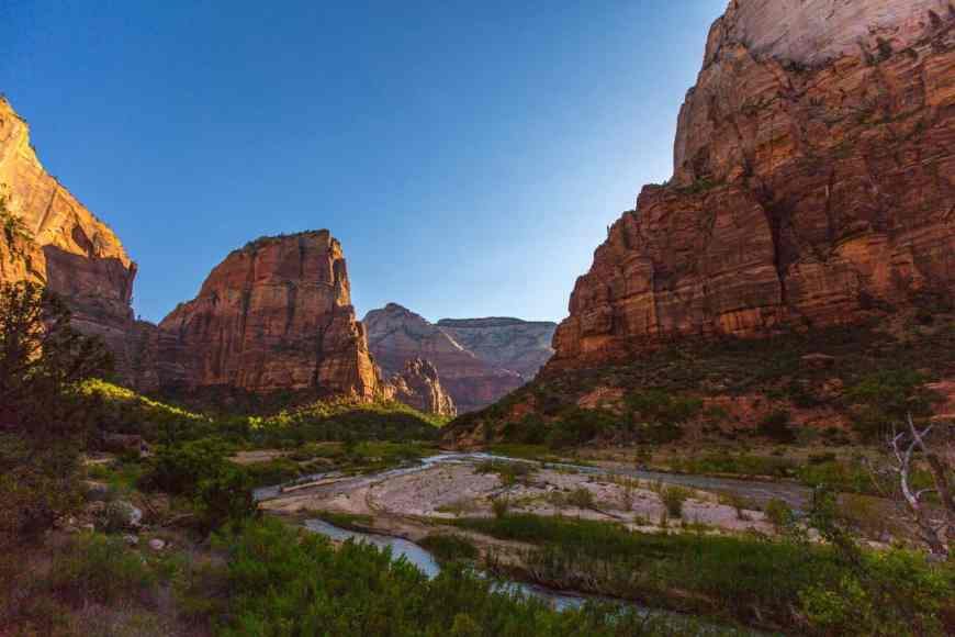 10 places to visit in 2017...Mt. Zion National Park and Angels Landing