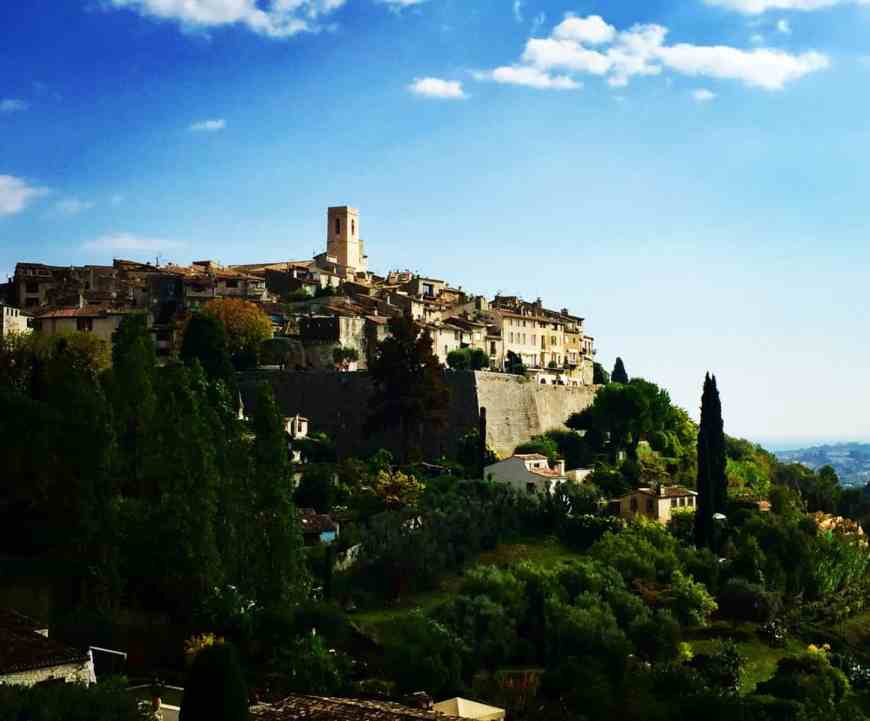 The medieval town of St. Paul de Vence sits high on a hill in southern France, a must-see in this area! | One Girl, Whole World