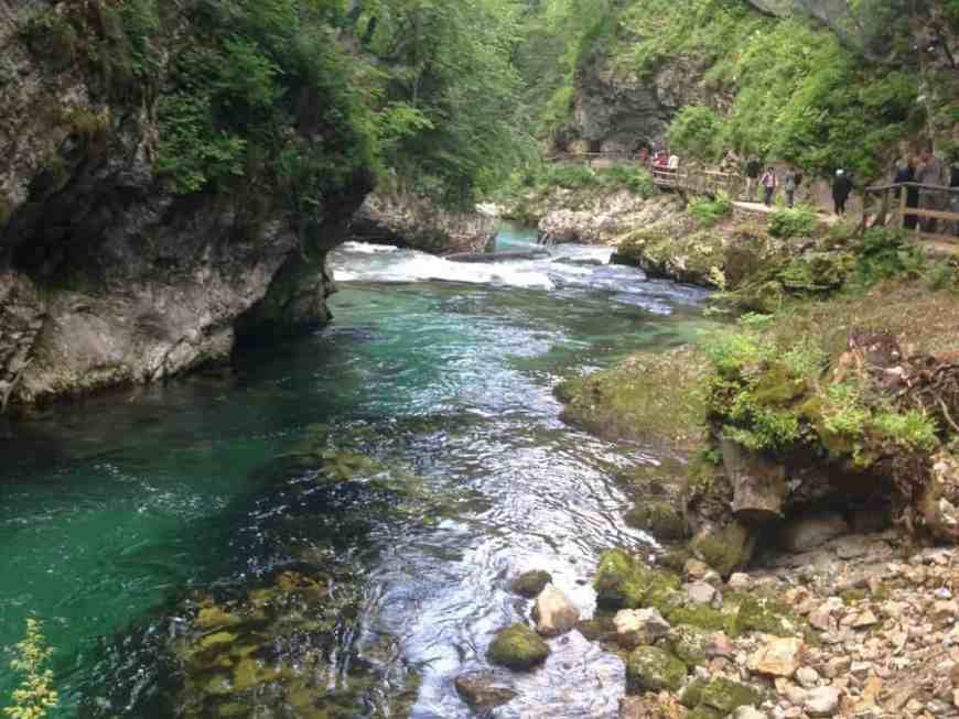 Vintgar Gorge is a perfect complement to Lake Bled & Lake Bohinj, Slovenia