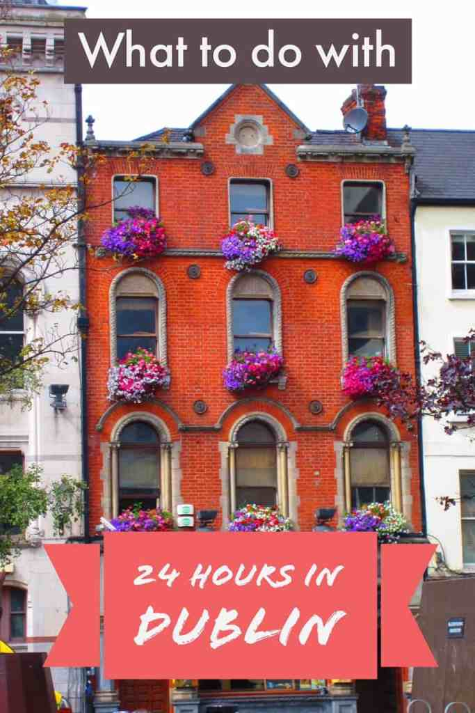 24 hours in Dublin might not seem like much, but you can see a ton of this amazing city!
