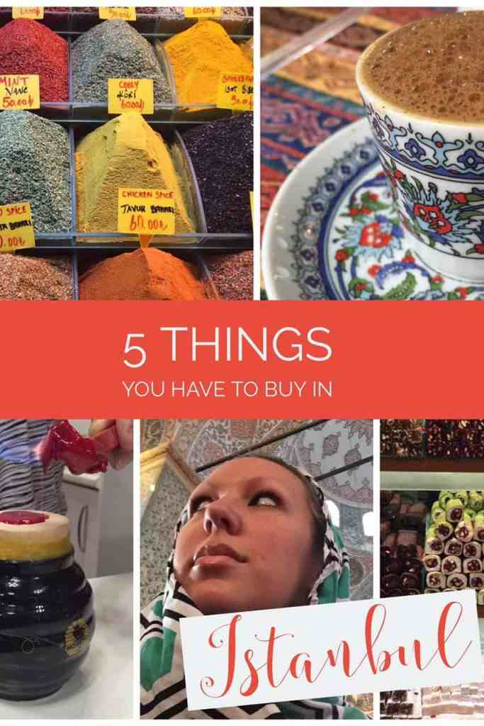 What to buy in Istanbul...gorgeous ceramics, spices, honey, scarves, and more!