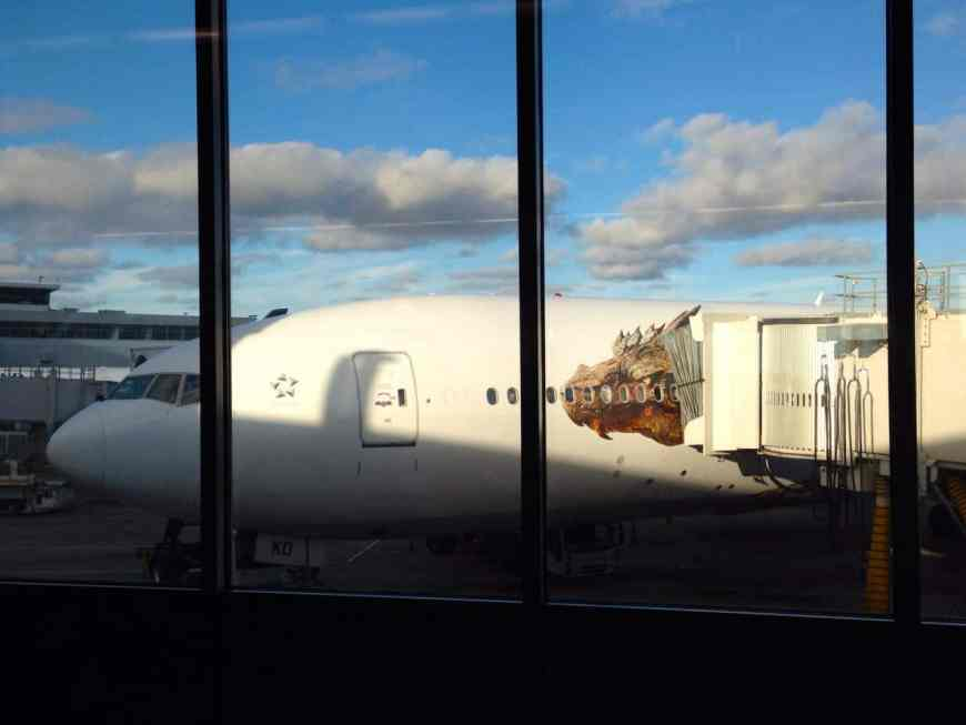 Air NZ gave us an awesome ride home on Smaug after our visit to Hobbiton. Here are some tips to make the most of your trip.