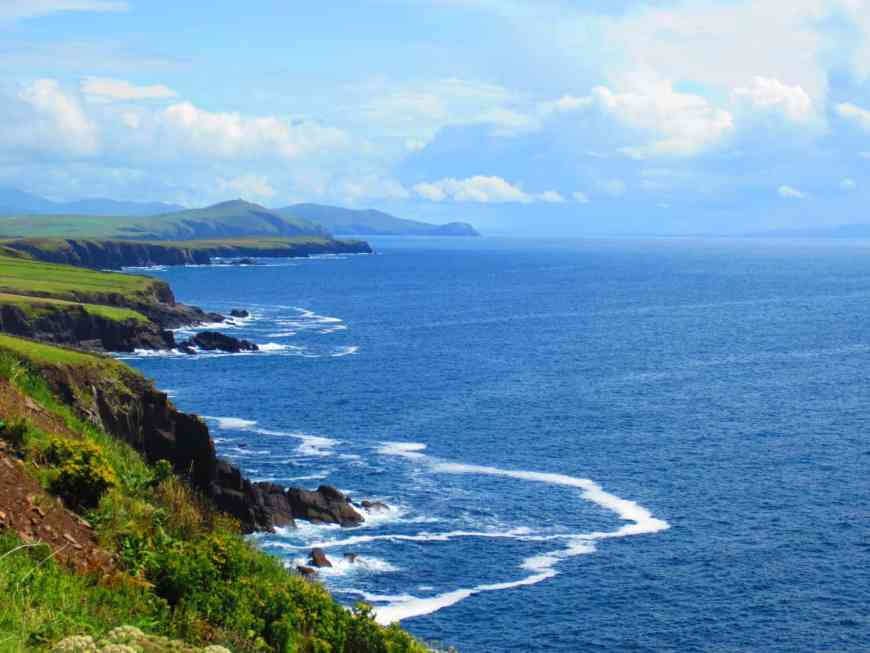 Dingle Peninsula or Ring of Kerry?? Ireland's Dingle Peninsula is one of the most breathtaking drives on the island--which is saying something. Tips for your route, what to see, & why this absolutely must be on your Ireland roadtrip itinerary!