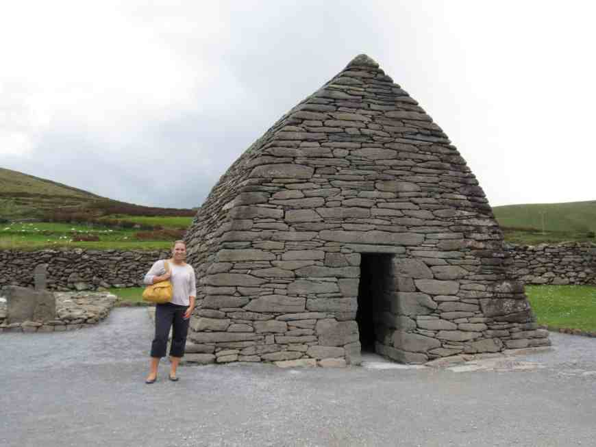 The Dingle Peninsula has more than stunning coastlines--there are tons of ruins all over the island, including the Gallarus Oratory and Dun Beag. Don't miss this on your Ireland trip!