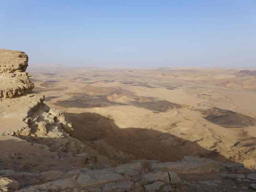Mitzpe Ramon Crater is the world's largest erosion crater, & a must-see on the road from Tel Aviv to Eilat