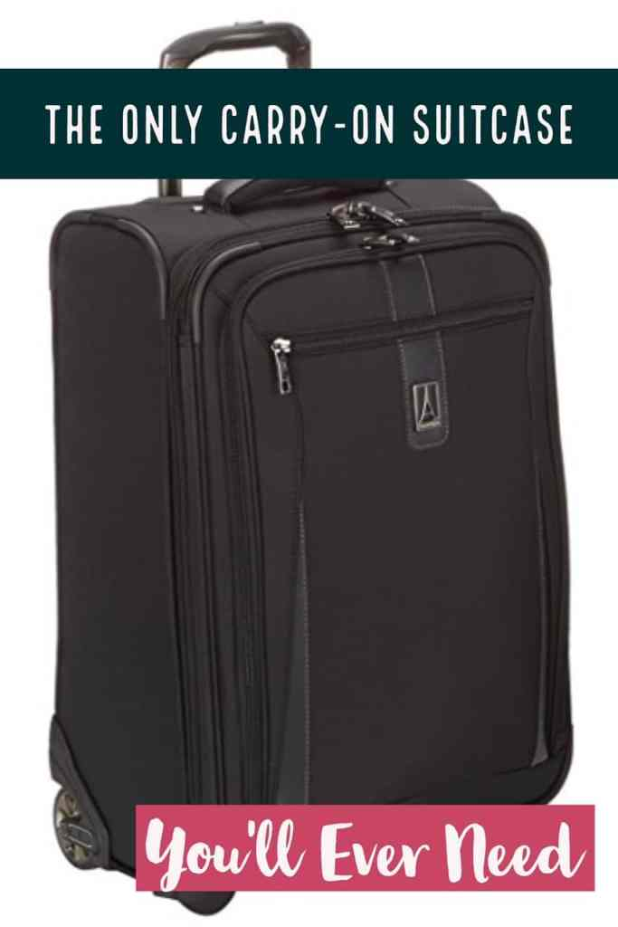 The best carry-on suitcase I've found, perfect for anything from a weekend to a few weeks abroad.  A great carry on bag is critical for any traveler, and I've done research to find the most durable and easy to use bags. #luggage