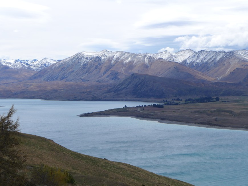 Beautiful view from Mt. John Observatory near Lake Tekapo, New Zealand...this area is a Dark Sky Reserve, so you can book a stargazing tour, or just look at the stars yourself!