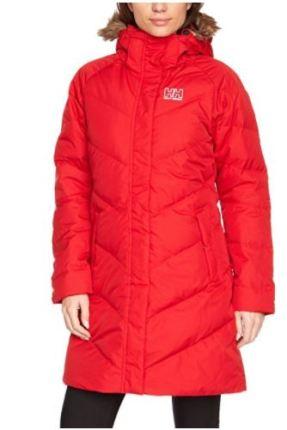 helly hansen red coat