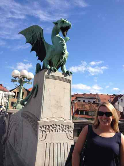 Charming Ljubljana...Slovenia trip planning tips, including what to do with 3 or 4 days. Trip planning tips, Slovenia itinerary, and where to go in Slovenia, including Ljubljana, the Julian Alps, Lake Bled, Piran, and more! #slovenia #easterneurope #lakebled
