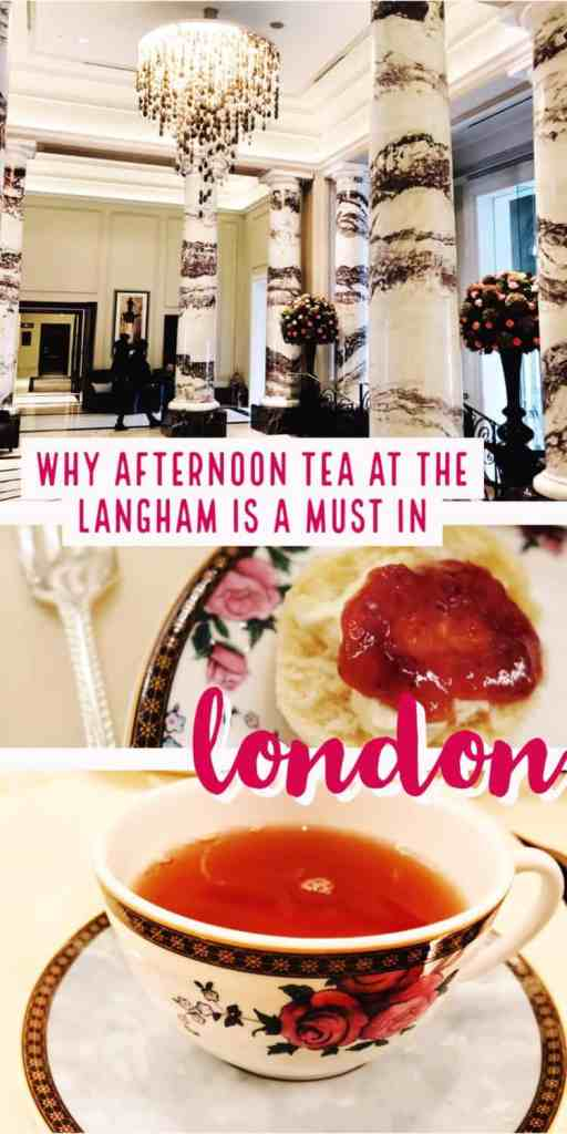 A fancy afternoon tea (not high tea!) is a must in London, and The Langham hotel is the perfect choice for your experience. From delicious little sandwiches to scones, pastries, & champagne, you'll be happy you splurged on this special experience! #london #afternoontea #traveltips