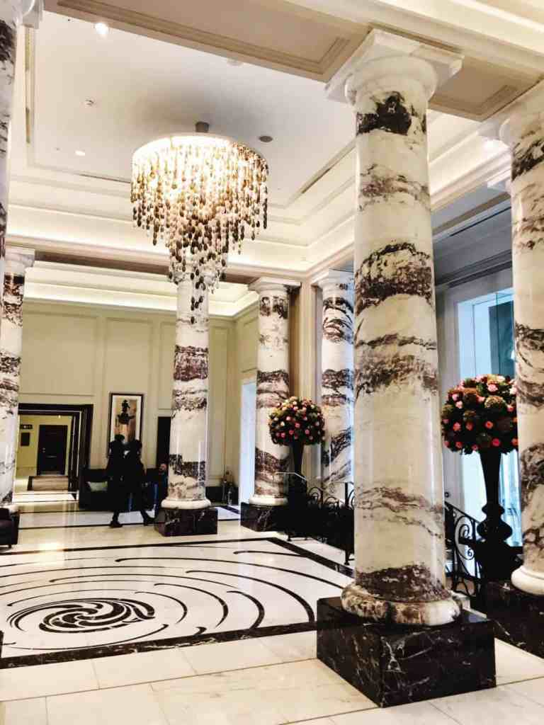 The Langham hotel in London is a beautiful setting for afternoon tea. The food was delicious and service great. This was a perfect addition to our London itinerary, tips for planning your trip. #london #afternoontea #specialoccasion