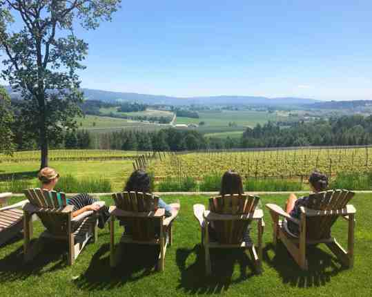 Penner-Ash Vineyard in the Willamette Valley, where to eat, how to plan your trip | Everything you need to know for a visit to the Willamette Valley, Portland itinerary, wine weekend in Oregon, the perfect girls' trip #willamette #wineries #oregon