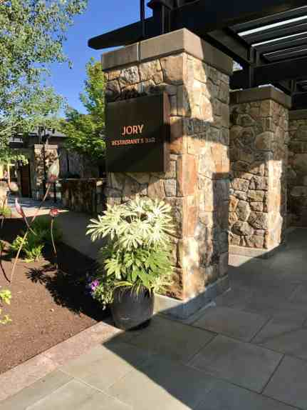 Beautiful dinner at Jory at the Allison Inn in Willamette Valley   which wineries to visit, where to eat, how to plan your trip   Everything you need to know for a visit to the Willamette Valley, Portland itinerary, wine weekend in Oregon, the perfect girls' trip #willamette #wineries #oregon