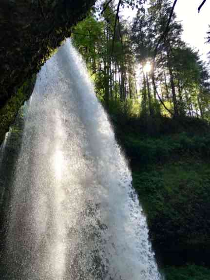Oregon's Trail of Ten Falls doesn't get as much attention as Multomnah, but it's totally stunning and offers 10 waterfalls, a moderately easy hike, and is easy driving distance from Portland | why you should hike the Trail of 10 Falls in Silver Falls State Park #oregon #waterfalls #trailoftenfalls
