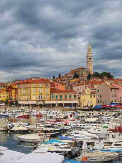 Rovinj's harbor, the jewel of northern Croatia | a charming coastal town in Istria, perfect base for exploring the hill towns of Croatia