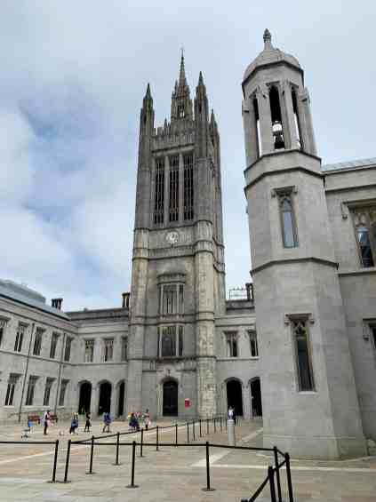 Marischal College - you'll feel like you're in a Harry Potter movie