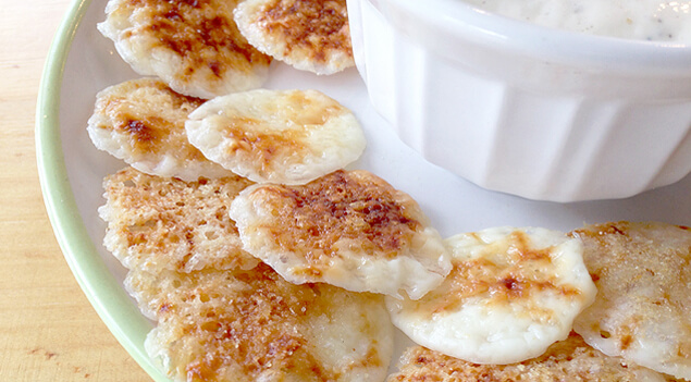 Cheese Crisps via One Good Thing by Jillee