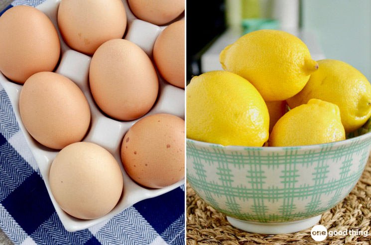eggs and lemons