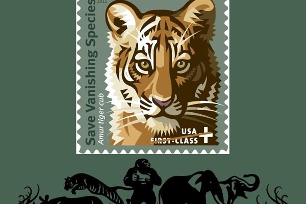 stamp endangered species
