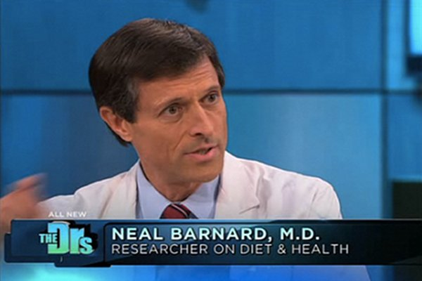 The Doctors Show Neal Barnard PCRM Vegan