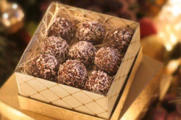 Hazelnut Chocolate Snowballs
