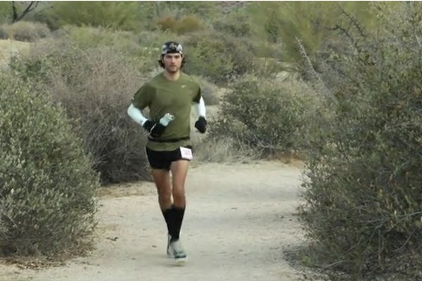 WATCH: A Vegan Ultrarunner Attempts to Run 100 Miles in 30 Hours