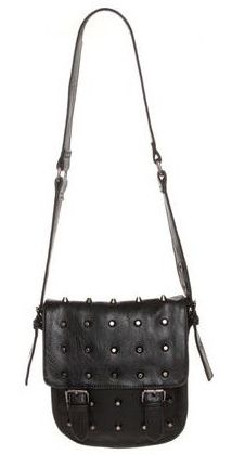 Stud-y Buddy Black Purse