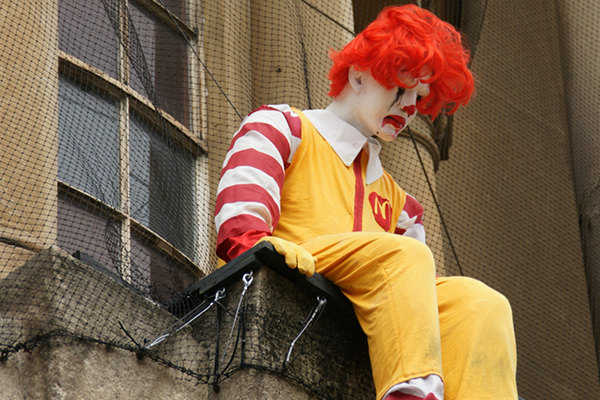 McDonald's Diners Least Happy with Health