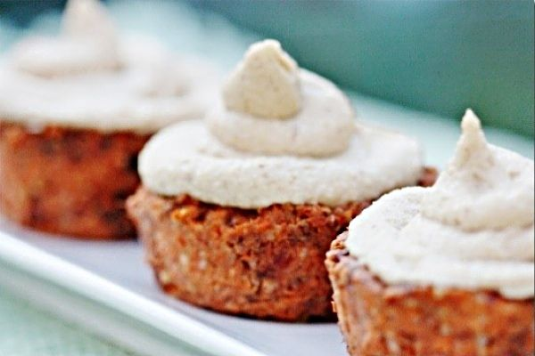15 decadent raw vegan no bake dessert recipes one green planet these raw carrot cake cupcakes are the perfect single serving dessert in a cup they are perfect for portion control as oppose to a whole carrot cake forumfinder Image collections