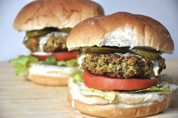 Recipe: Baked Broccoli Burgers