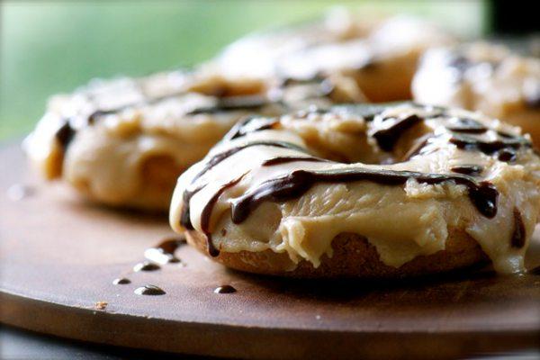 Recipe: Chocolate Caramel Doughnuts