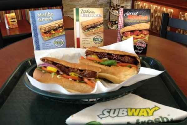 Subway Offers Three New Vegan Sandwiches