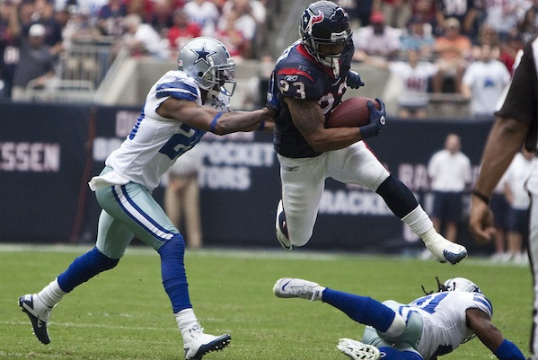 Arian Foster, NFL Running Back, is Now Fueled on a Vegan Diet