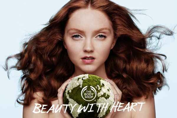 British Model Lily Cole is the New Face of Body Shop's Cruelty-Free Makeup